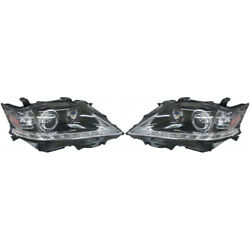 For Lexus Rx350 Headlight Unit 2013 2014 2015 Pair Lh And Rh Side Hid Type