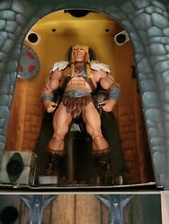 He-man And The Masters Of The Universe Sdcc King Grayskull Action Figure New