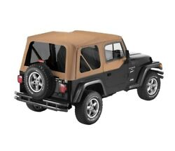 Bestop For Replace-a-top Fabric-only Soft Top - Jeep 1997-2002 Wrangler