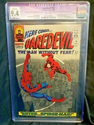 Daredevil 16 Restored Cgc 9.4 Apparent Slight A White Pages