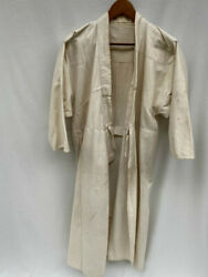 Former Japanese Army Medical Wear Surgical Gowns Mon Japan Vintage Stray Clothes