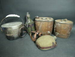 Koyoshido Imperial Japanese Army Former Canteen Things At The Time Together