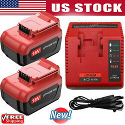 12 Pack 18 Volt 6.0ah Lithium Battery For Porter Cable 18v Pc18blx Pc18bl Tool