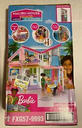 New Barbie Estate Malibu House Playset With 25 Plus Themed Accessories