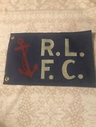 Rugby R.l.f.c. Jacket Coat Bag Football Flag Patch -rare