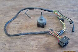 1965 1966 Mustang Fastback Coupe Conv Gt Shelby Orig 2 Spd Wiper Switch + Wiring