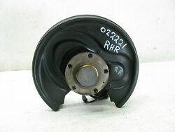 04-09 Audi A4 Fwd Spindle Knuckle Hub Bearing Rear Right Passenger Oem 022221