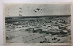 Camp Davis N.c. Wwii Postcard Now Closed Base With Planes In Picture Rppc