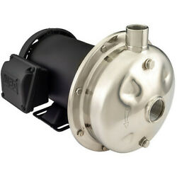 American Stainless Pumps D3701045t3f Centrifugal Pump208 To 230/460vacss