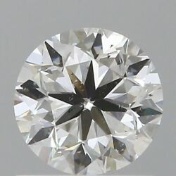 0.90 Ct Natural Diamond Gia Certified 5 X 6 Mm Round Brilliant Loose M/si2 Grade