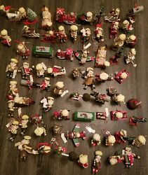Antique Hershey's Chocolate Christmas Ornaments With Original Tags.