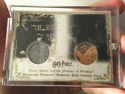Harry Potter Memorable Moments Dual Prop And Costume Card Lupin Marauders Map