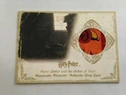 Harry Potter Memorable Moments Series 1 Prop Card Chudley Cannons Poster Variant