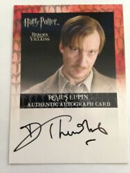 Harry Potter Heroes And Villains Autograph Card David Thewlis Remus Lupin Auto