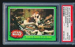 1977 Star Wars And039desperate Moments For Our Heroesand039 205 Psa 10 - Low Pop 1/5