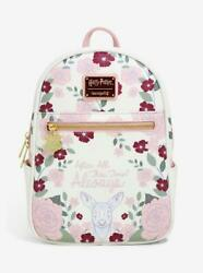 Nwt Loungefly Harry Potter Floral After All This Time Always Mini Backpack
