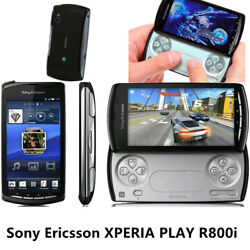 Sony Ericsson Play R800i Black Gsm Smartphone Unlocked Gsm Android Game
