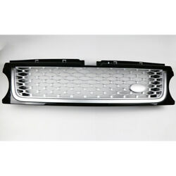 Grille Fit For Range Rover Sport 2006-2013 Silver Mesh Front Air Intake Grille