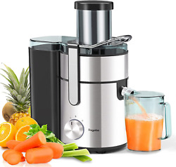 Bagotte 3.34 Juicer Machines 1000w Wide Mouth Juicers Extractor For Whole Fruit