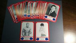 Johnnie Brownand039s Boxing Card Set 3 - 1986 Red Border