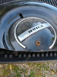 1937 Buick Deluxe Spare Tire Carrier Cover Fender Trim