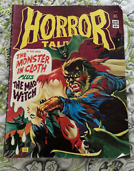 Horror Tales Oct. 1973 Monster In Cloth And Mad Witch No. 5