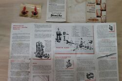 Ohlsson And Rice, O And R, Cannon , And Royal Engines Ephemera