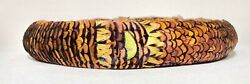 Vintage Master Quality Handmade Hawaii Iridescent Pheasant Feather Lei Hat Band