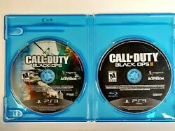 Call Of Duty Black Ops 1 And 2 Bundle Playstation 3 Ps3 Disks Only Shooter