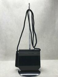 Secondhand Yves Saint Laurent Shoulder Bag/ Black There Is Dirt In The Upper Lid