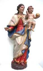 Hn62 -madonna With Child Baroque Here As High-fidelity Copy