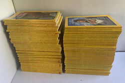 Huge Rare National Geographic Magazine Lot 1969-1994 - Mint Condition W/ Maps