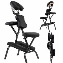 Portable PU Leather Pad Travel Massage Tattoo Spa Chair w Carrying Bag New $29.99