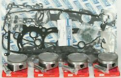 Wsm Complete Top End Kit For .5mm Bore Pistons Rings Gaskets 010-873-12p