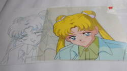 Used Pretty Guardian Sailor Moon Cell Picture Animation Jp Usagi Tsukino