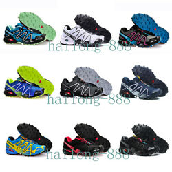 Salomon Speedcross3 Menand039s Outdoor Resistant Hiking Shoes Travel Camping Trainers