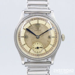 Omega Vintage Cal.26.5sob.pct2 Manual Winding Mens Watch Authentic Working