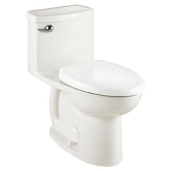 Compact Cadet 3-flowise Tall Height 1-piece 1.28 Gpf Single Flush Elongated Toil