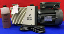 Agilent Varian Ds 602 Dual Stage Vacuum Pump 949-9335 With Leroy Motor