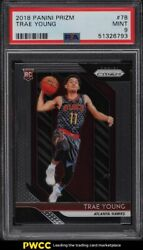 2018 Panini Prizm Trae Young Rookie Rc 78 Psa 9 Mint