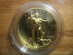 2009 United States Mint Ultra High Relief Double Eagle Gold Proof Coin Item Uh1
