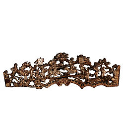 Antique Chinese Gilt Wood Carving