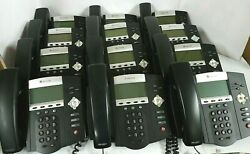 Lot Of 12 Polycom Soundpoint Ip 450 Office Business Phone W/ Handsets And Stands