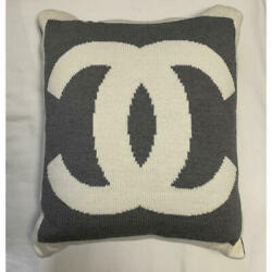 Authentic Vintage Cc Logo Pillow Cover Only Cover