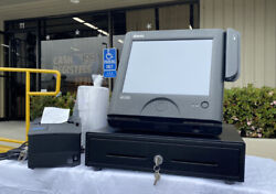 Sps-2000 Pos Touch Screen-ner Receipt Printer -new Cash Drawer