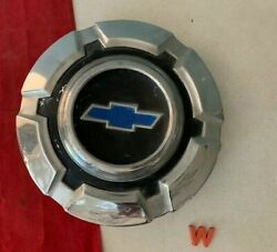 W 1 +rare+ 1967 - 1972 Chevy 3/4 -1 Ton Pick Up Truck Dog Dish Hubcap Blue