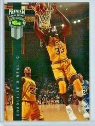 1992 Classic Four Sport Preview Shaquille Oand039neal 1 Of 5 /10000 - Rare - Hof Lsu