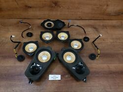✅oem Bmw E70 E71 X5 X6 Front Rear Left Right Individual Sound Audio Speakers Set