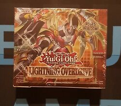 Lightning Overdrive Booster Box Of 24 Packs - Sealed - Liov - 1st Edition Yugioh