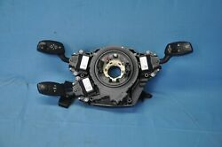 2007 Bmw 525i E60 Rwd 2 Steering Column Clock Spring Combination Switches Oem